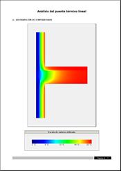 Análisis numérico de puentes térmicos lineales. Pulse para ampliar la imagen
